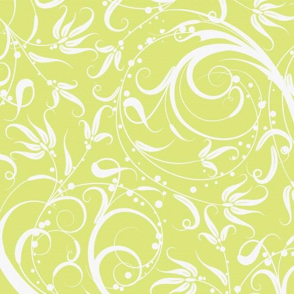 ps绿色花纹高清图片