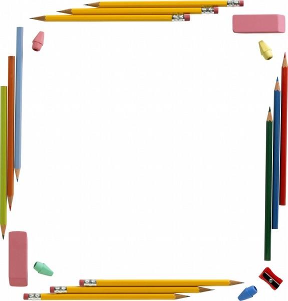 可爱铅笔边框图片下载-zol素材下载