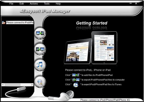 4Easysoft iPad Manager(iPad管理工具)