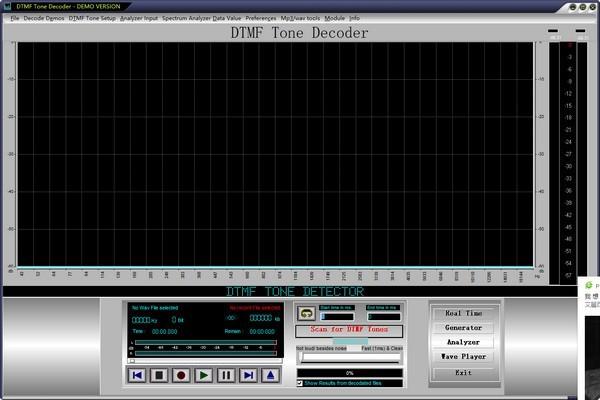 DTMF Tone Decoder(DTMF多功能解码器)