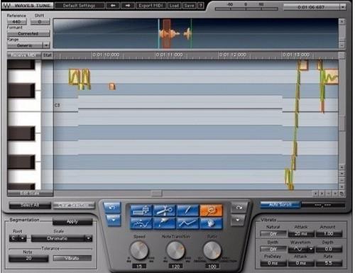 Waves Tune(Waves音高校正插件)