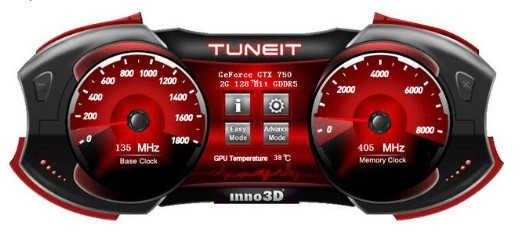 映众显卡超频软件(INNO3D TUNEIT OC UTILITY)